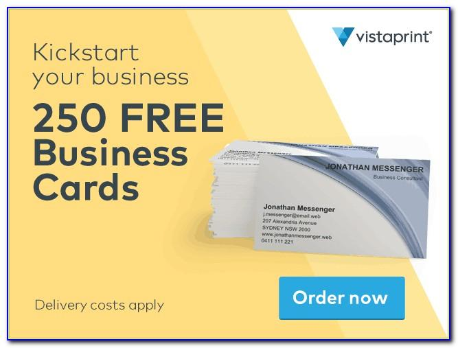 Vistaprint Business Card Promotion Code