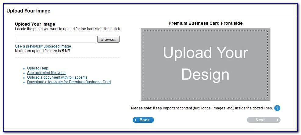 Vistaprint Business Card Sample Kit