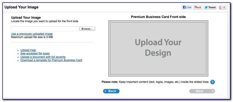 Vistaprint Business Card Samples