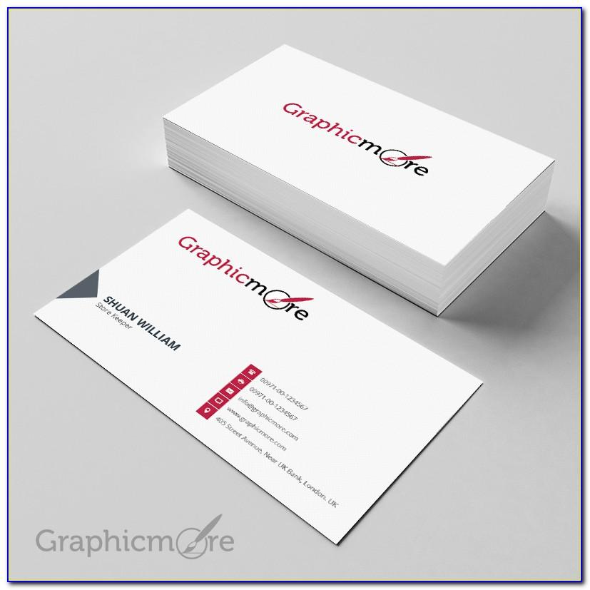 Vistaprint Business Card Template For Photoshop