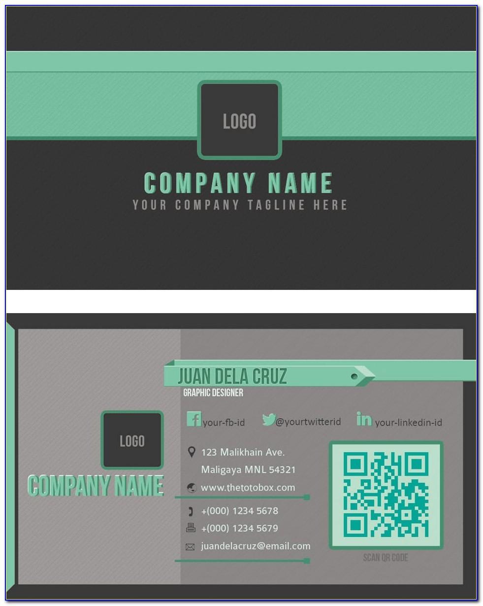 Vistaprint Business Card Template Indesign