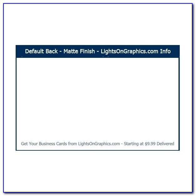 Vistaprint Business Cards 999