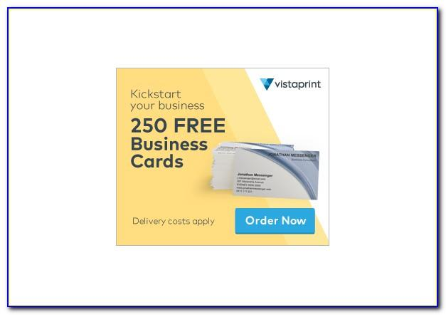 Vistaprint Free 250 Business Cards Code