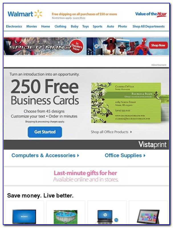 Vistaprint Free Business Cards Promo Code