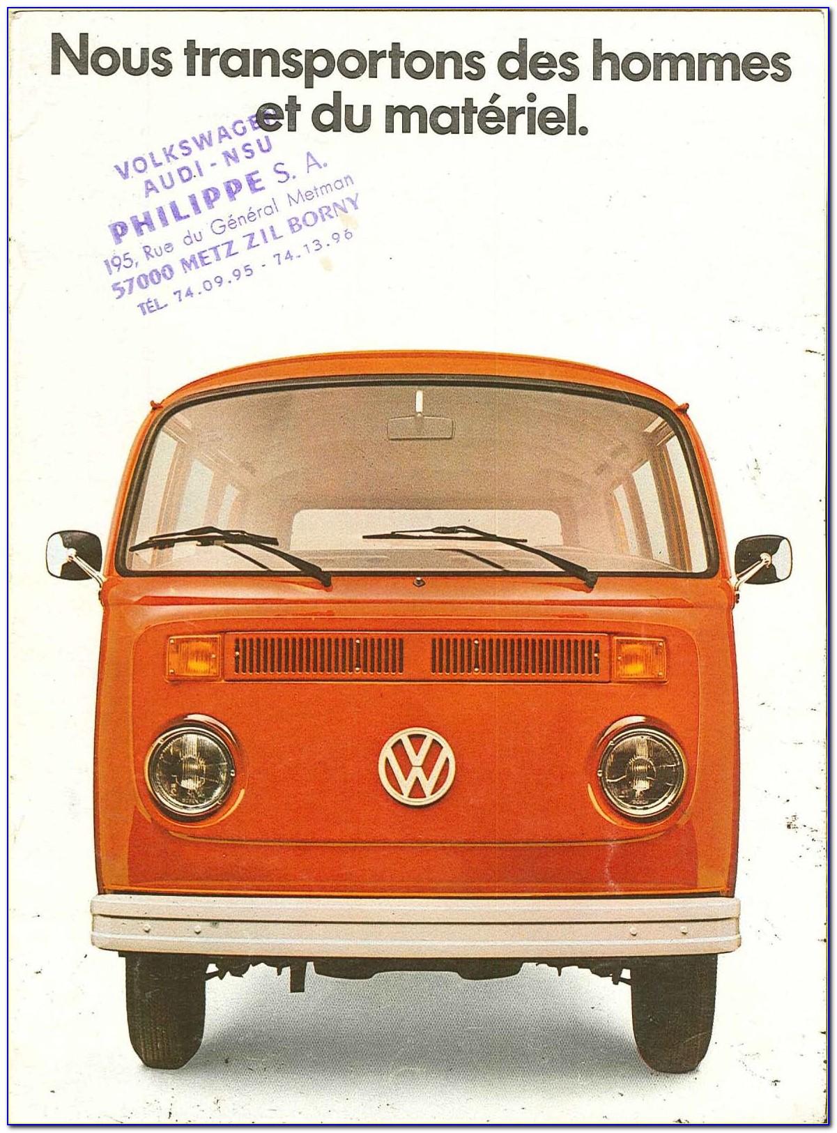 Volkswagen Caravelle Brochure Pdf