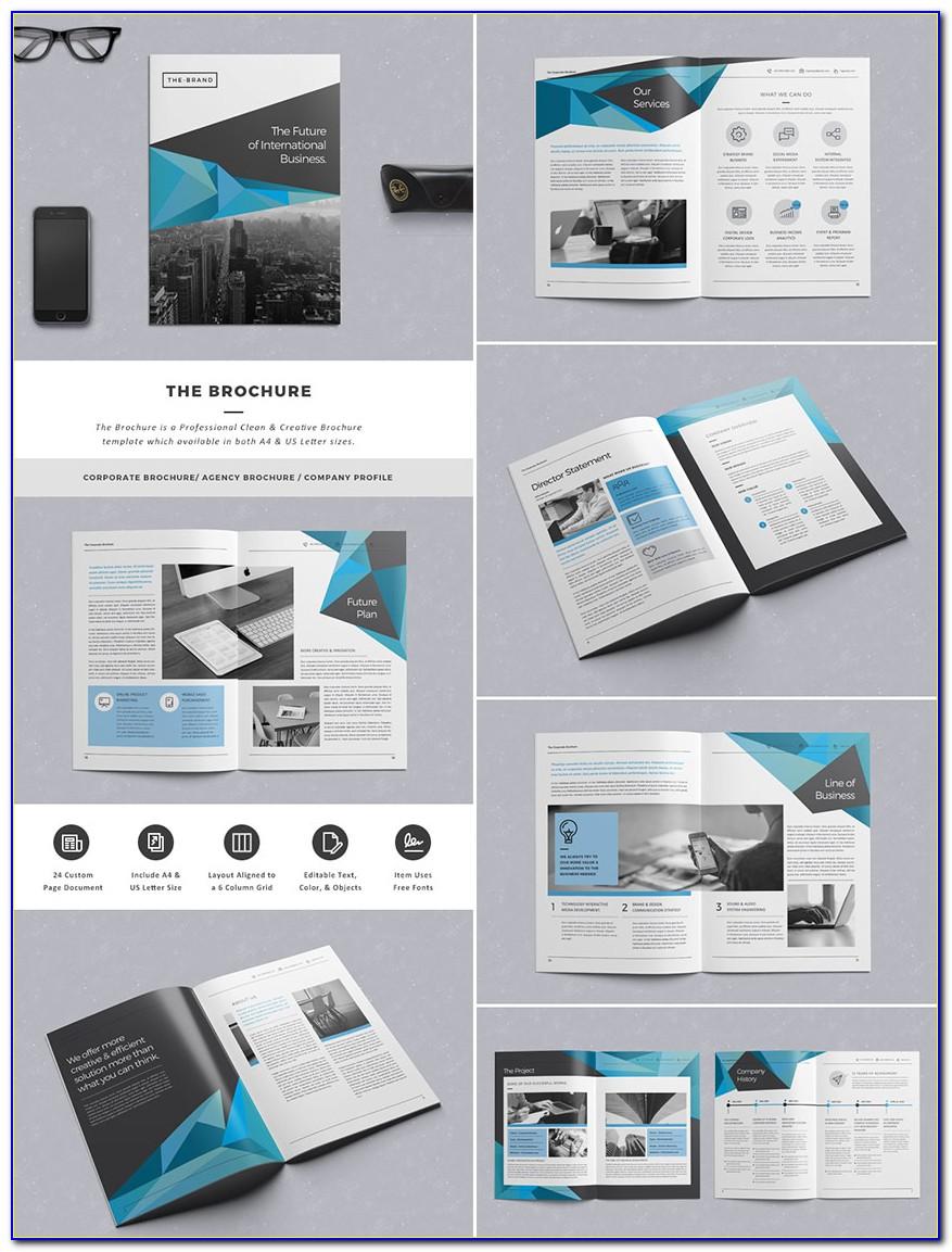 Wall Brochure Rack