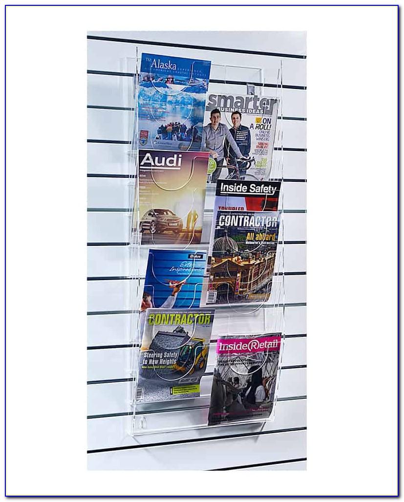 Wall Mount Brochure Holders Displays