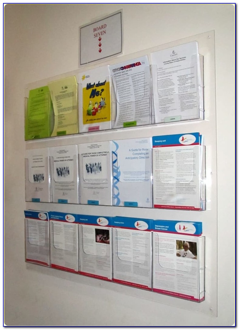 Wall Mounted Brochure Holders South Africa