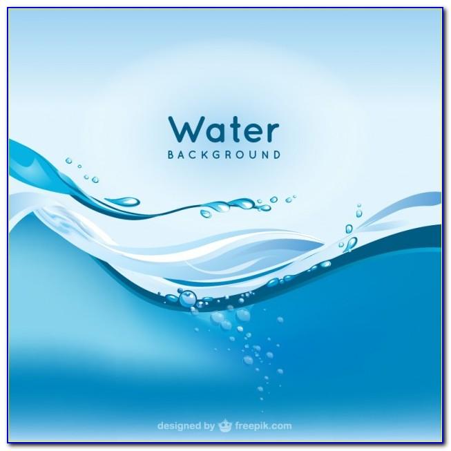 Water Brochure Template Free Download