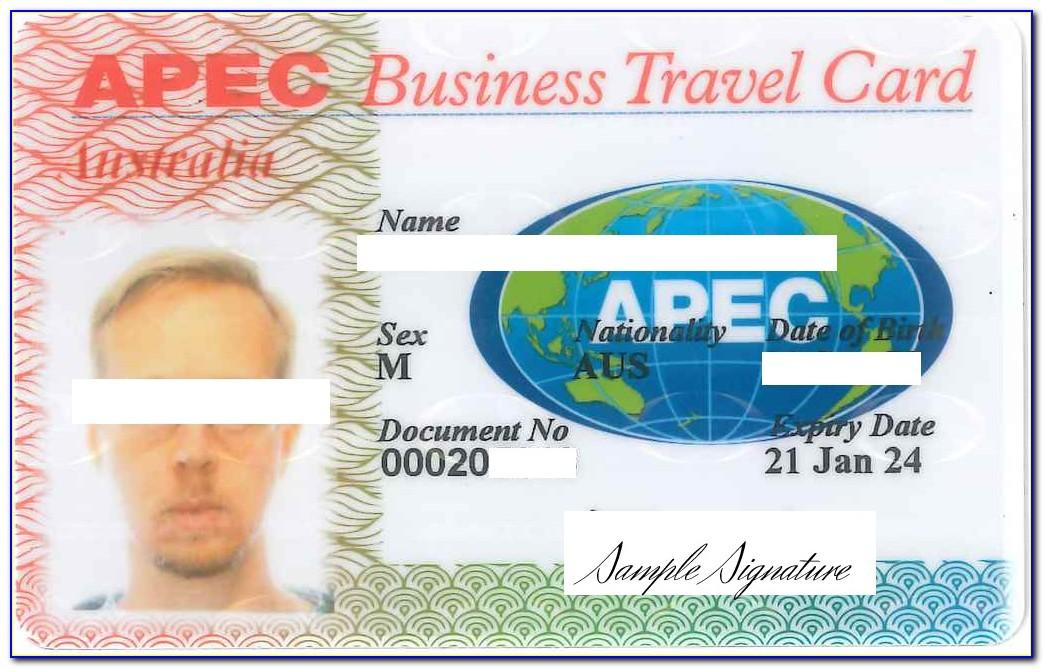 What Is Apec Business Travel Card (abtc)