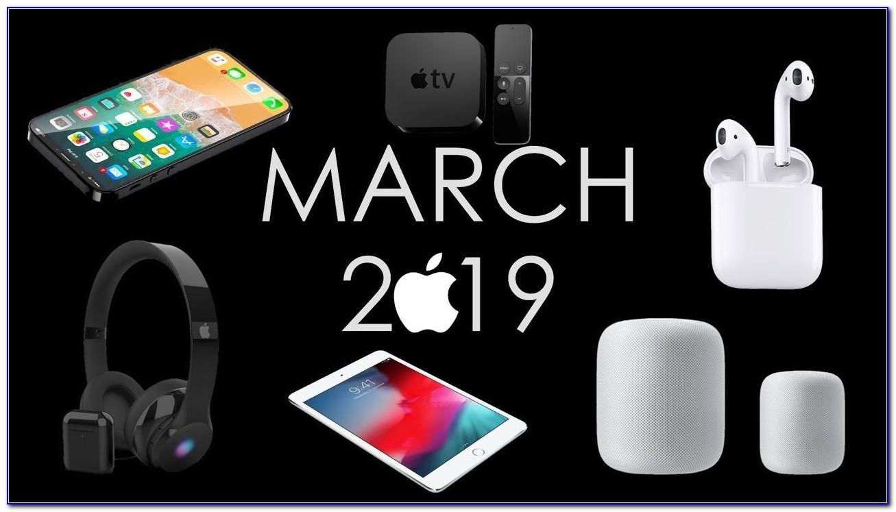 When Does Apple Announce New Products 2019