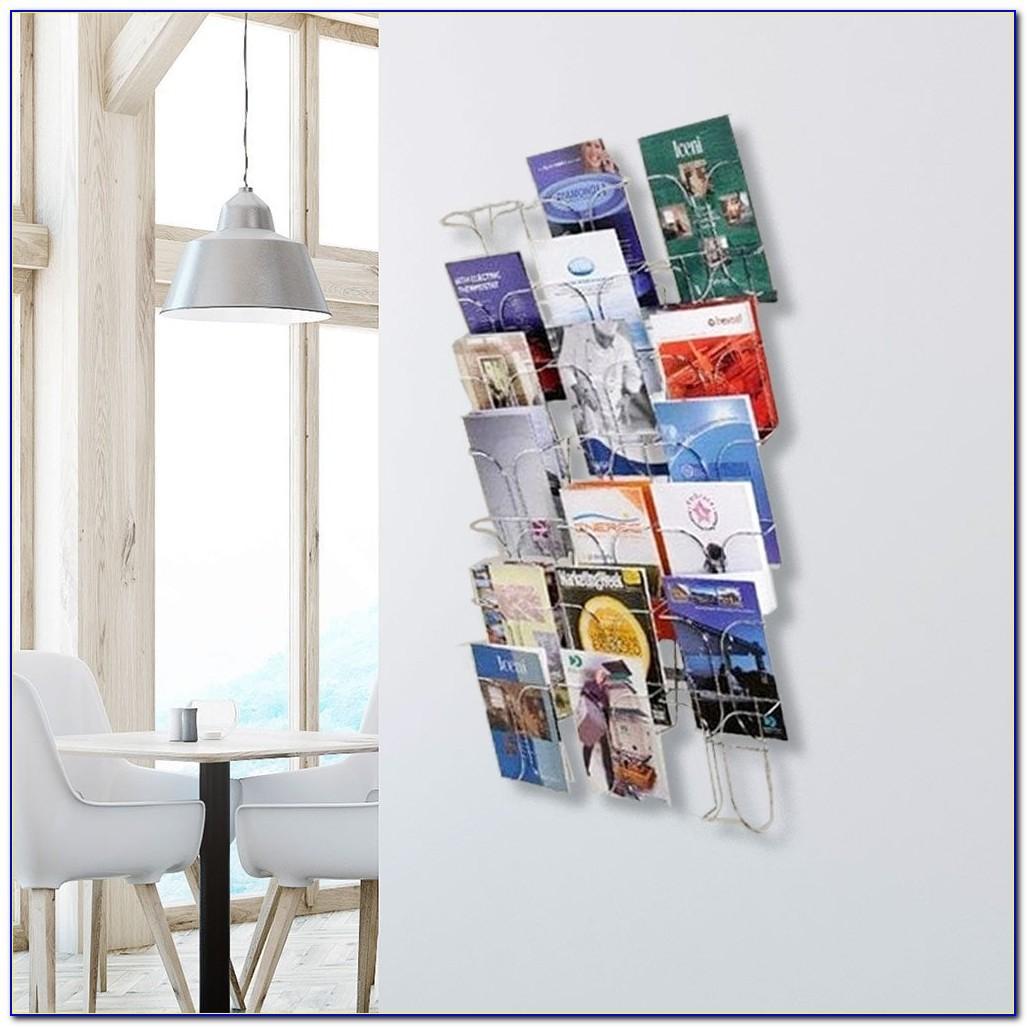 Wire Mesh Brochure Holders