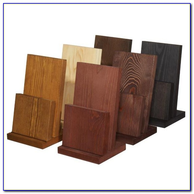 Wood Brochure Holder