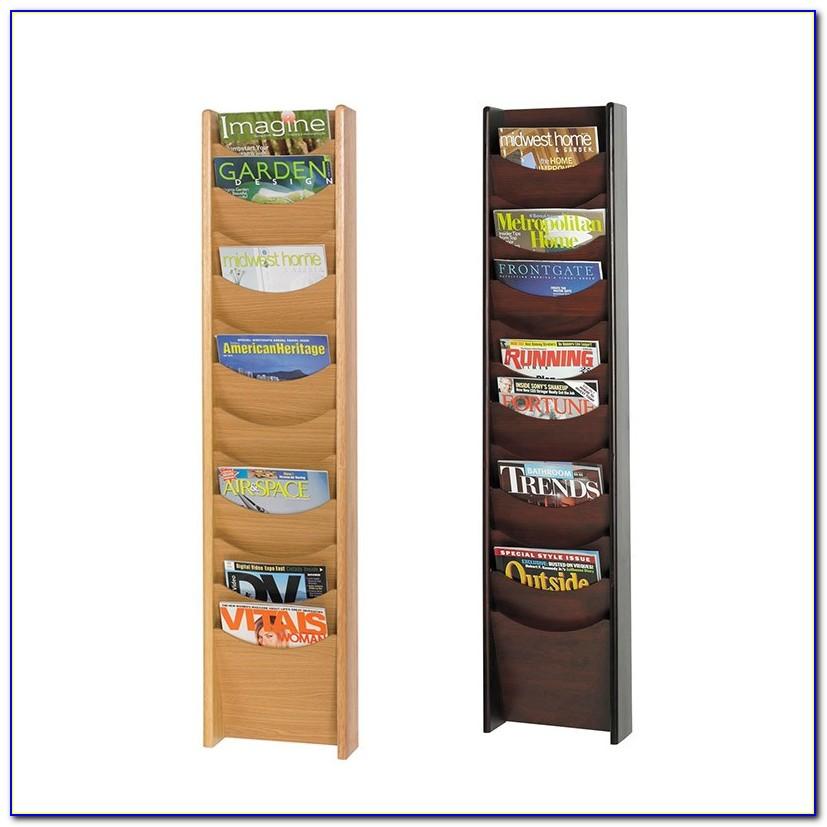 Wood Brochure Holders Displays