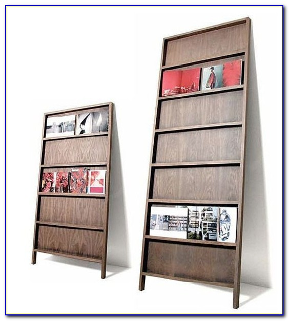 Wood Brochure Racks Free Standing