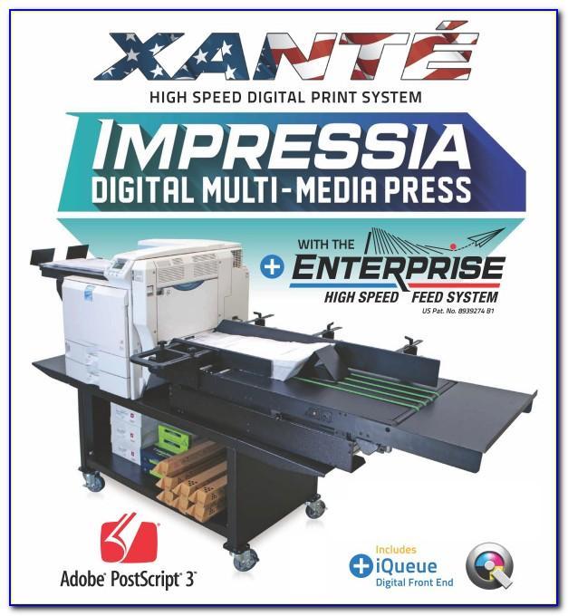 Xante Impressia Catalog Envelopes