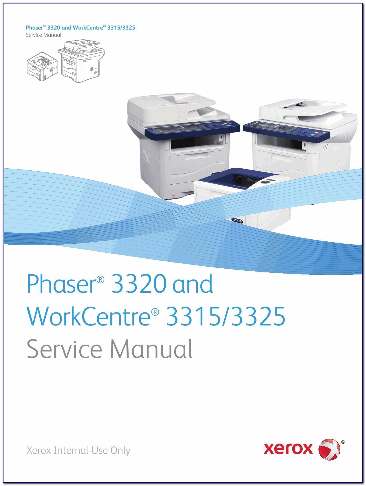 Xerox 3325 Manual Español