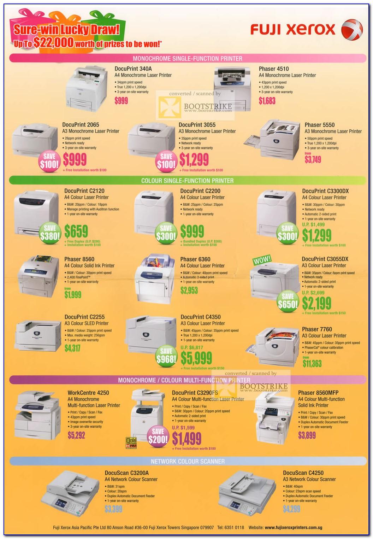 Xerox 5855 Brochure Download