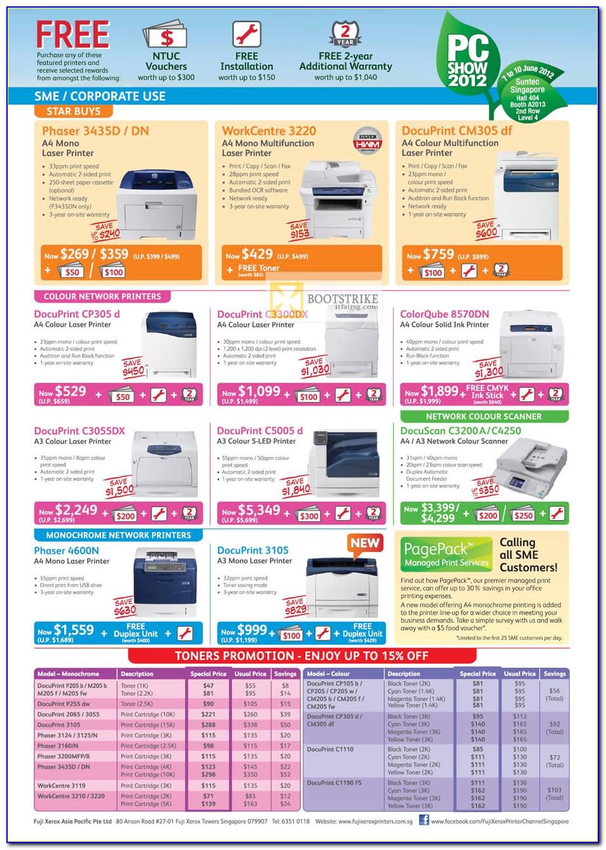 Xerox 6605 Brochure