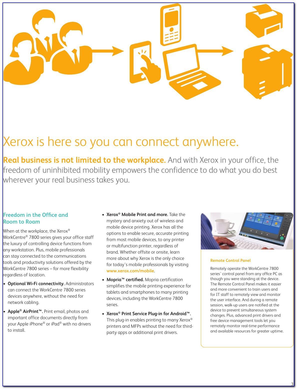 Xerox 7845 Brochure