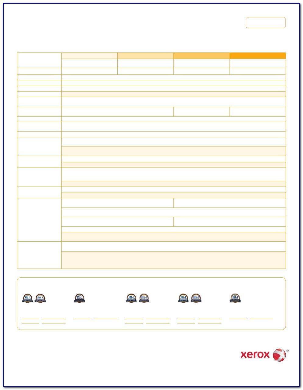 Xerox 7845 Detailed Brochure