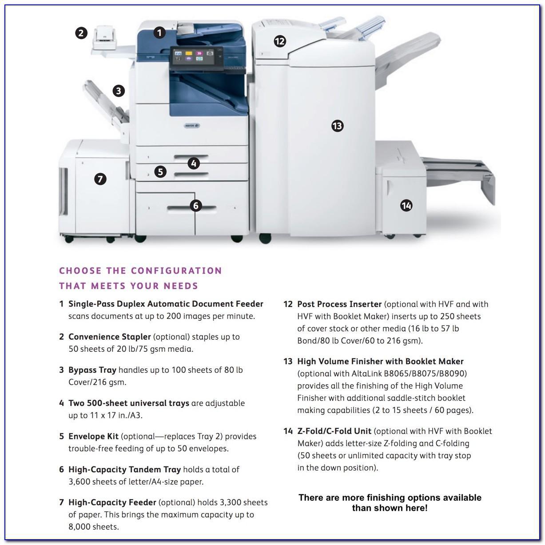 Xerox B8055 Brochure