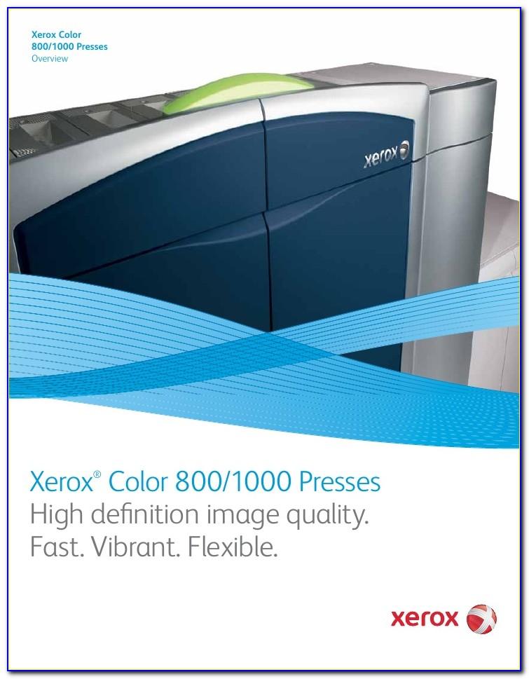 Xerox D125 Brochure Pdf