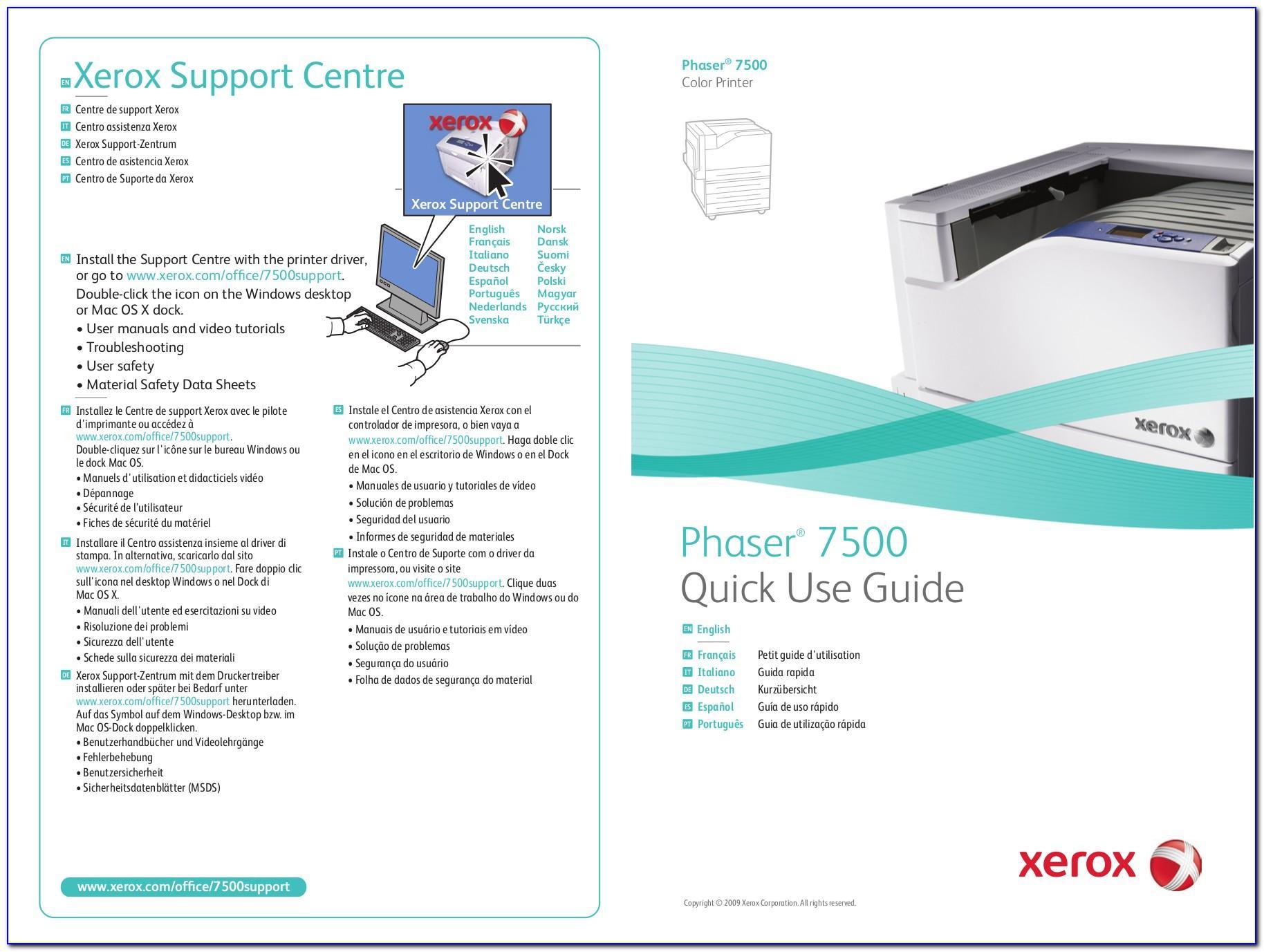 Xerox Workcentre 7535 Brochure Pdf