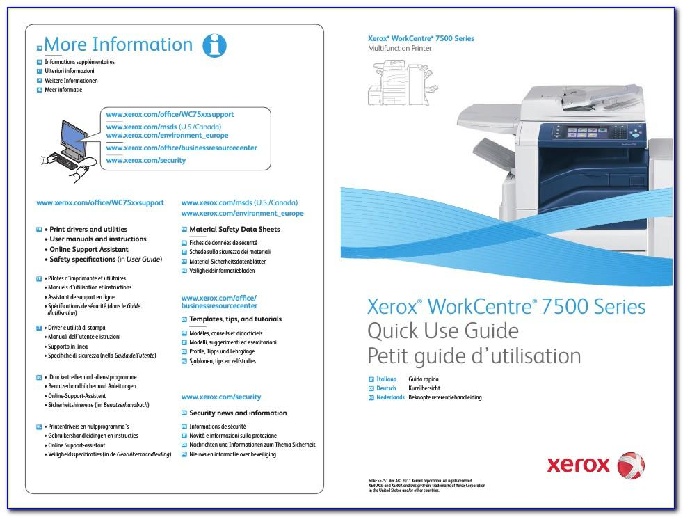 Xerox Workcentre 7535 Specifications