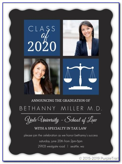 Yale Graduation Announcements