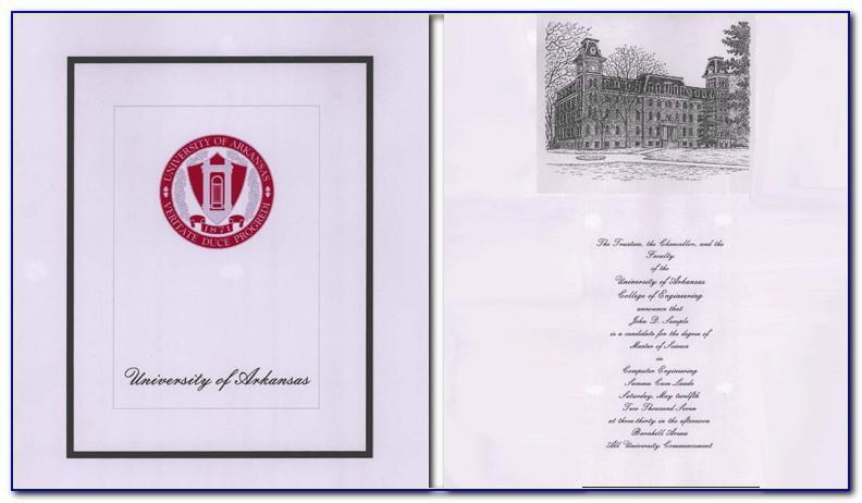 Yale University Graduation Announcements