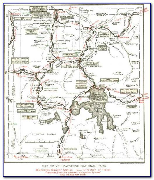 Yellowstone National Park Brochure Pdf