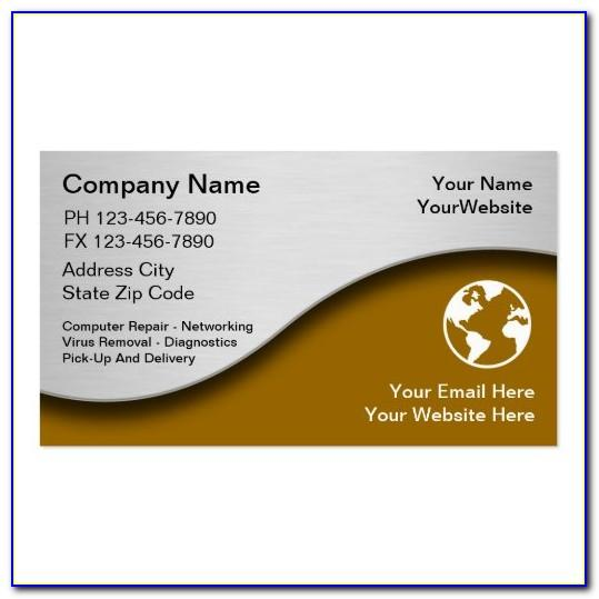 Zazzle Business Cards Samples