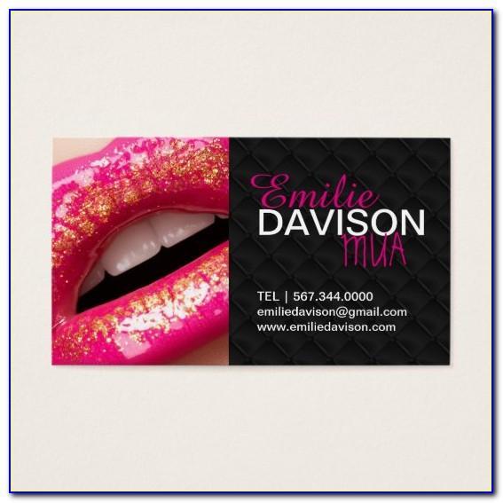 Zazzle Makeup Artist Business Cards
