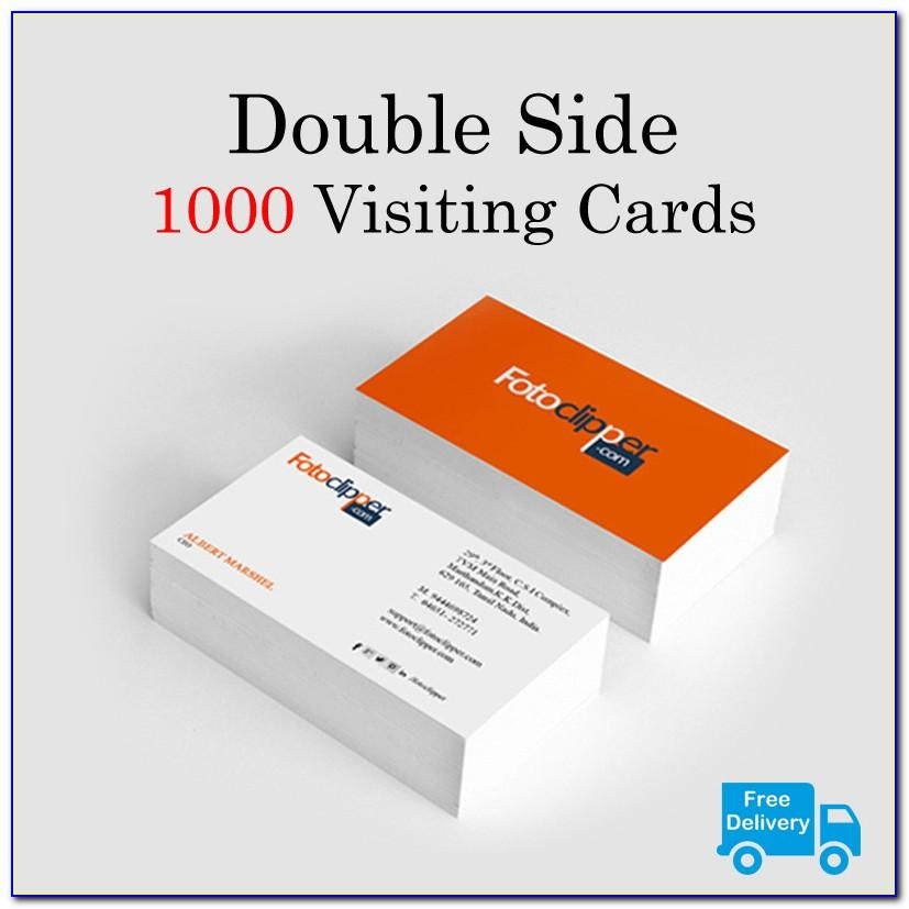 1000 Business Cards 999