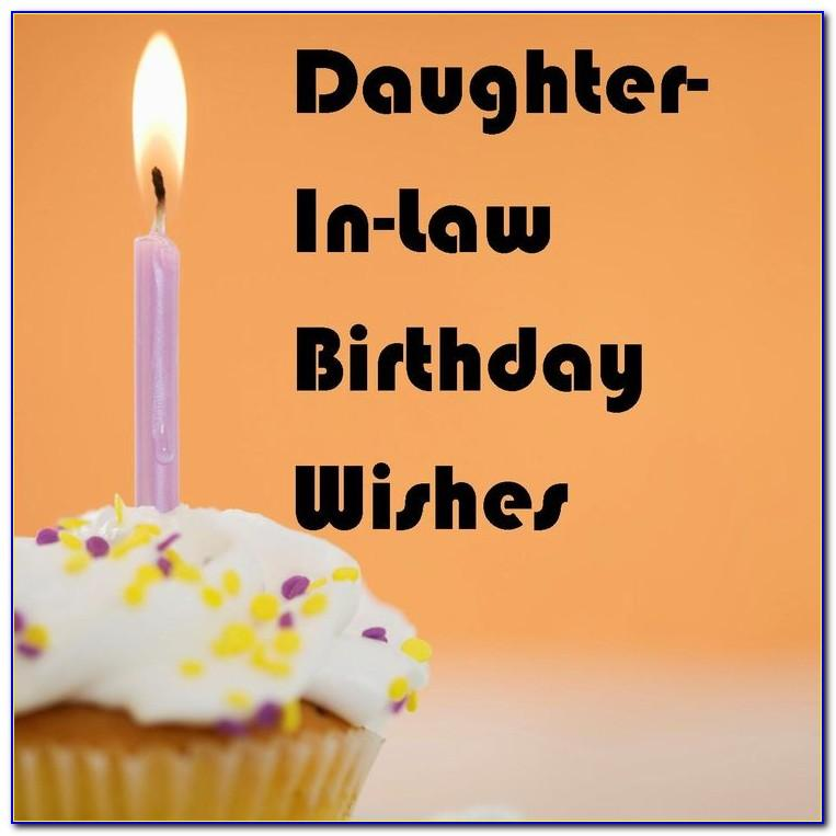 123 Greetings Birthday Card For Daughter In Law