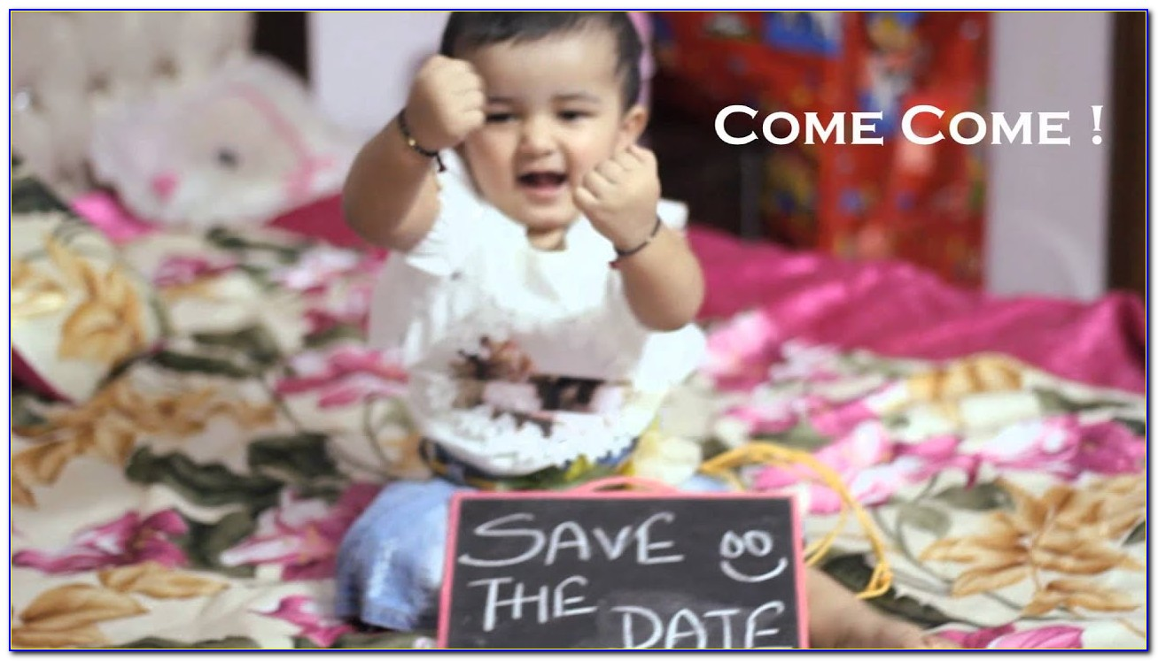 1st Birthday Invitation Card For Baby Boy In Hindi