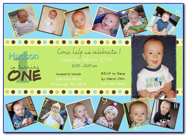 1st Birthday Invitation Card For Baby Boy India