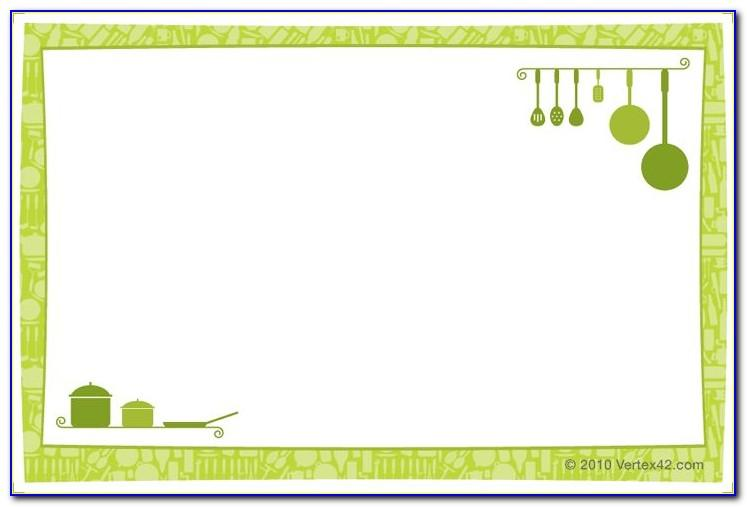 3x5 Note Card Template Microsoft Word