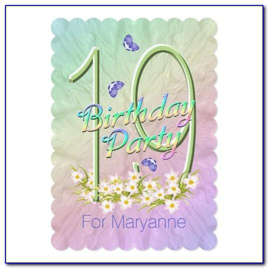 50th Birthday Place Cards
