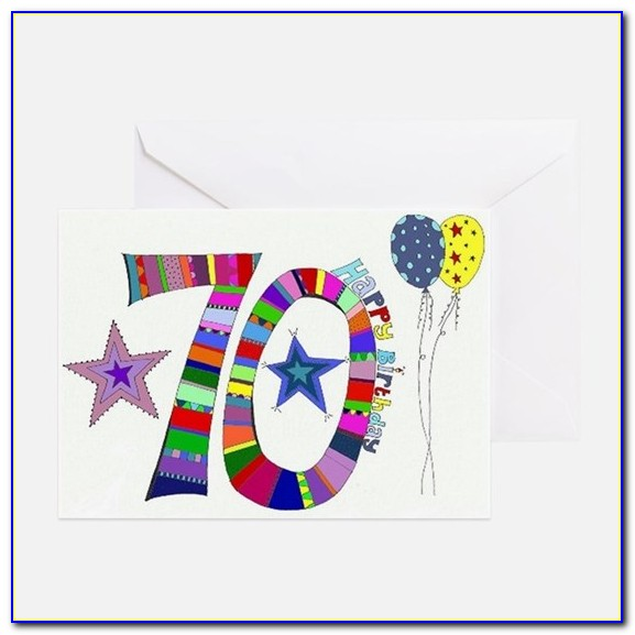 70th Birthday Greeting Card Messages