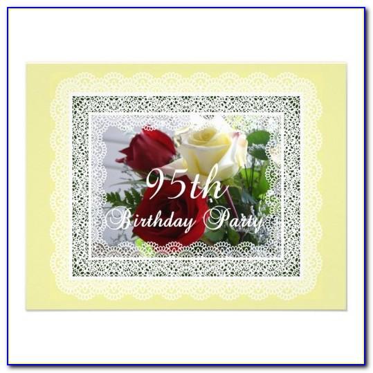 95th Birthday Card For Dad