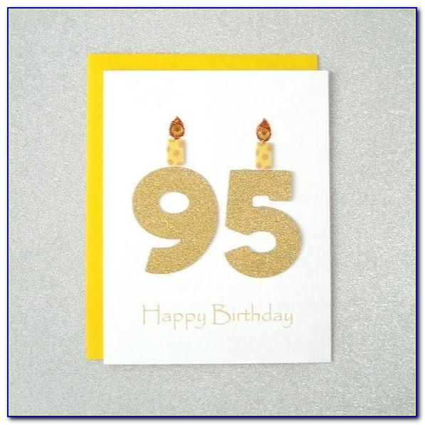 95th Birthday Card Ideas
