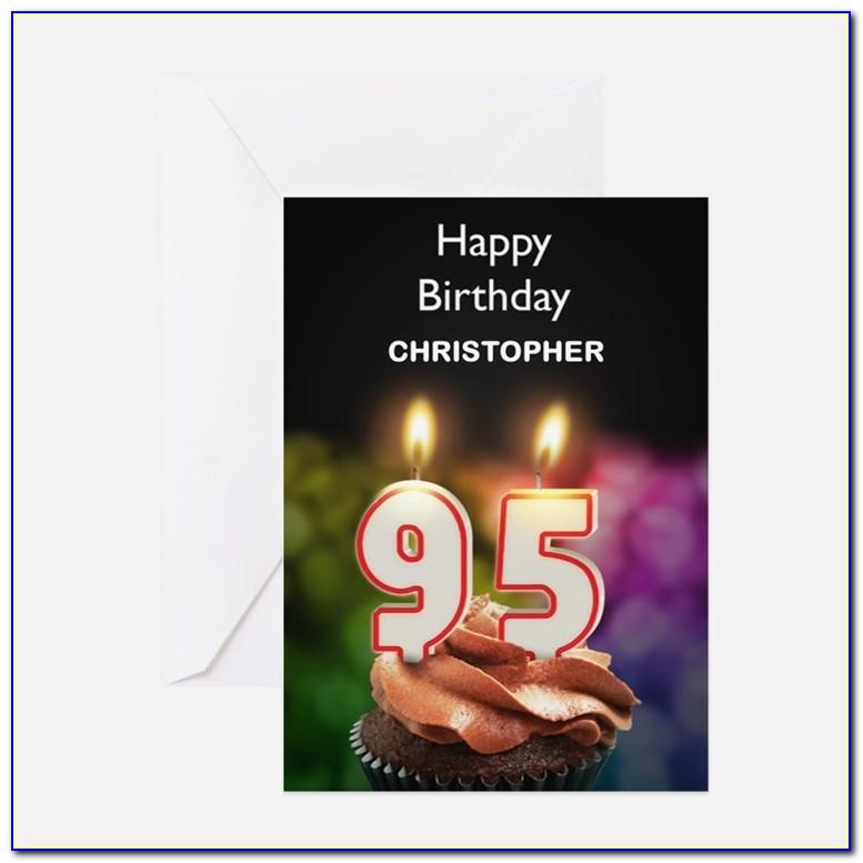 95th Birthday Card Message
