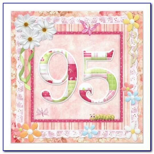 95th Birthday Card Mum