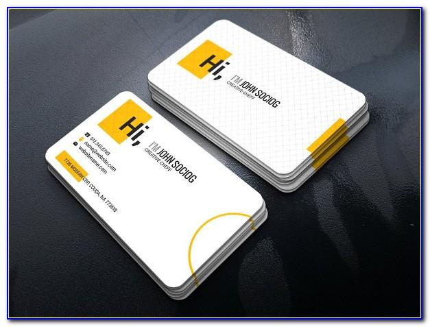 Affordable Letterpress Business Cards