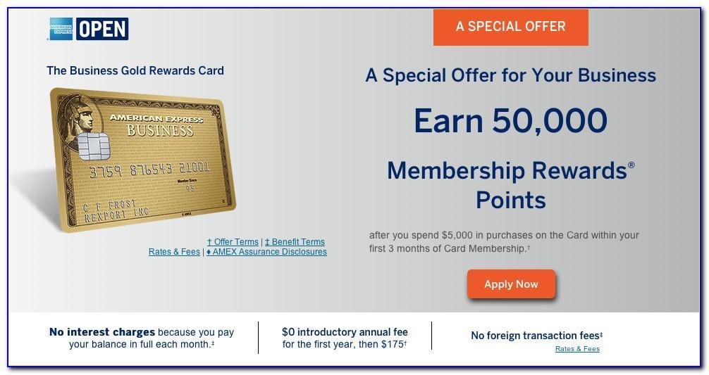 American Express Business Card Rewards