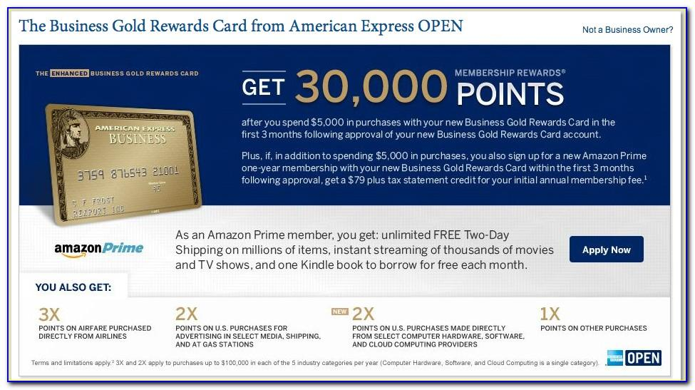 Amex Amazon Prime Business Card