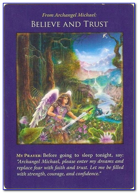 Archangel Michael Cards Free Reading