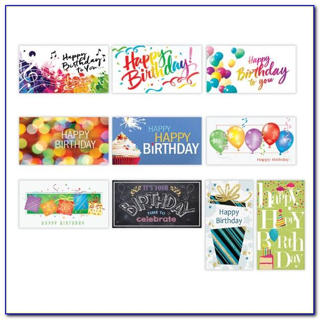 Assorted Birthday Cards For Employees